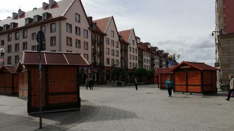 Jarmark na wrocławskim Rynku
