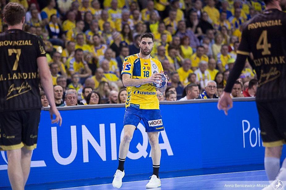 Janc: Jeżeli awansujemy do Final4, to myślę, że zagram w nim w barwach PGE VIVE Kielce