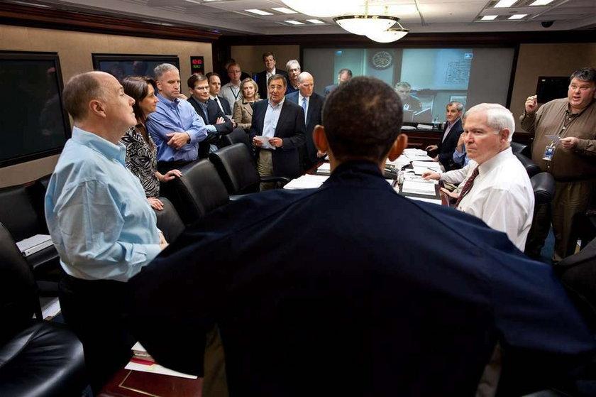 Tak Obama oglądał śmierć Bin Ladena
