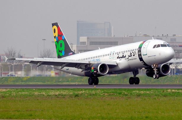 Samolot Afriqiyah Airways, EPA/MARKUS TILLMAN