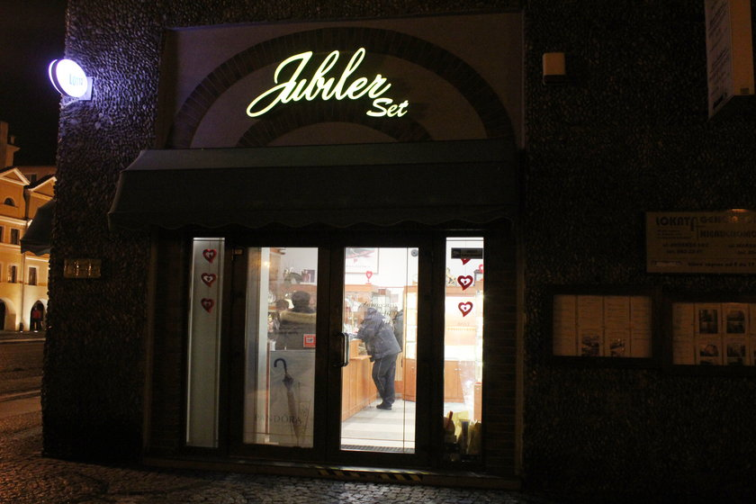 Salon jubilerski na legnickim Rynku
