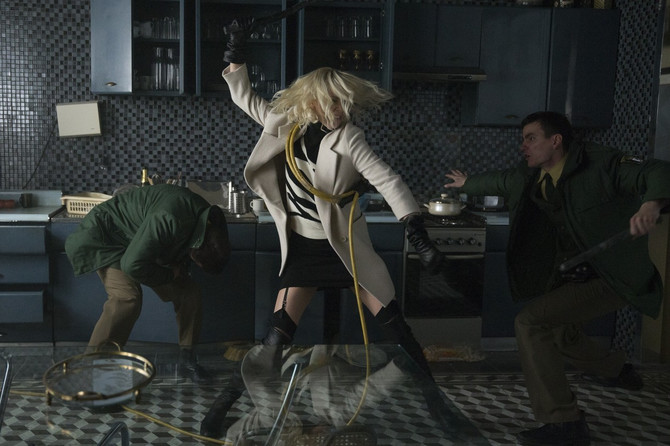 Šarliz Teron u filmu Atomic Blonde