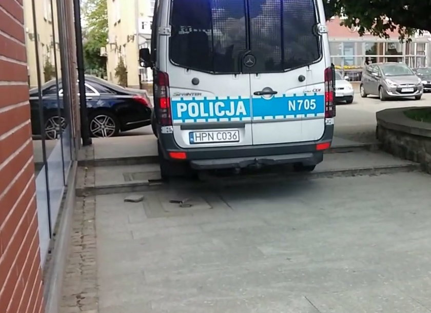 Tak jeżdżą gdańscy policjanci