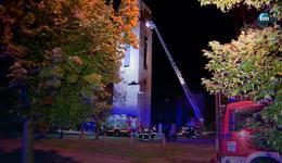Pożar dzwonnicy kościoła św. Franciszka w Łodzi. Nikt nie ucierpiał