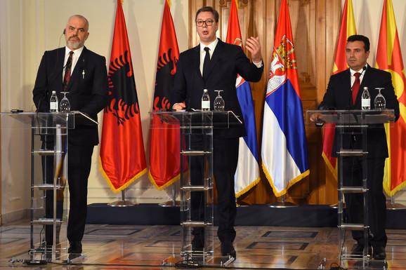 Trilaterarni sastanak u Novom Sadu