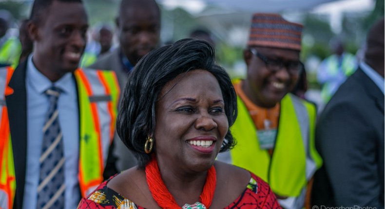 Minister of Sanitation and Water Resources Mrs Cecilia Dapaah