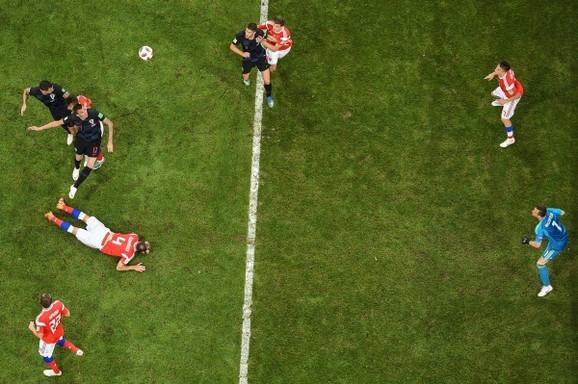 Sjajan pogled na rusko-hrvatski fudbalski duel u Sočiju