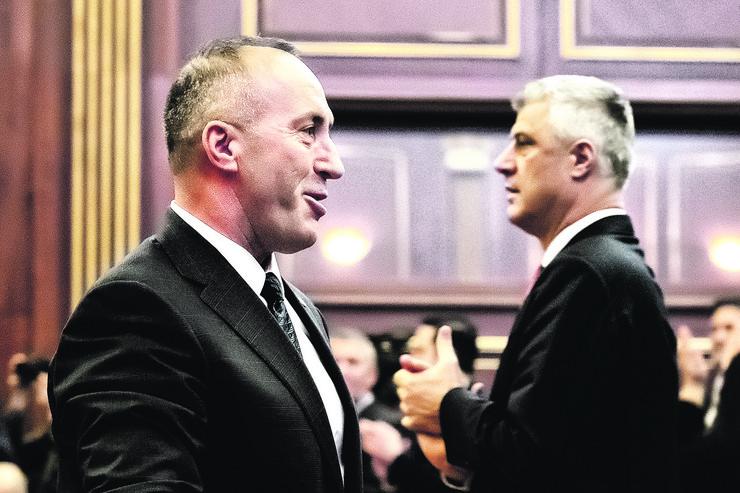 Hašim Tači i Ramuš Haradinaj