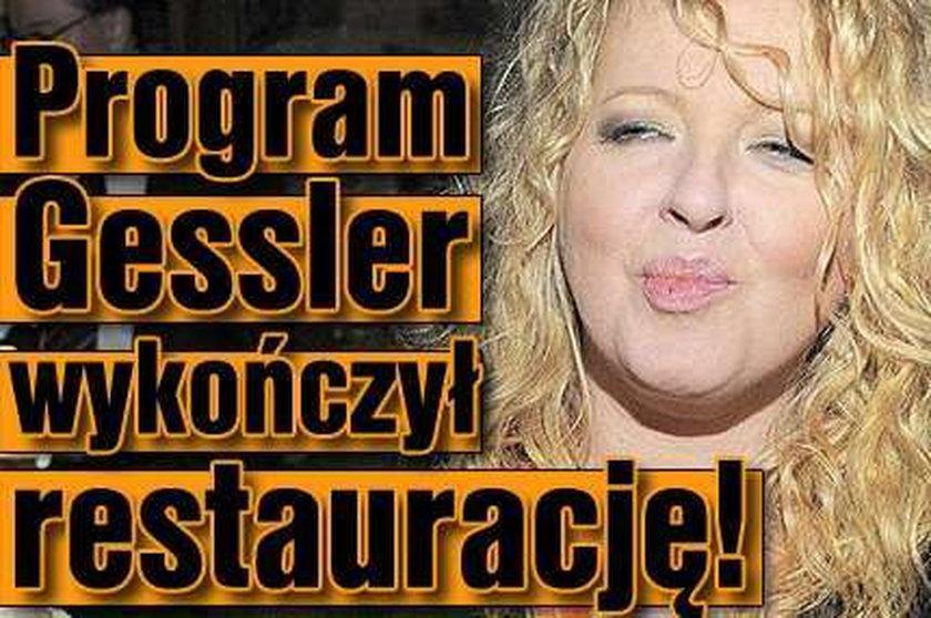 Program Gessler wykończył restaurację!