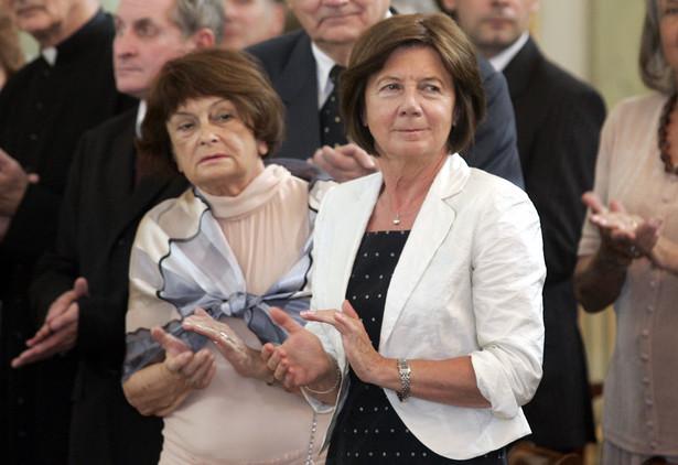 Jadwiga Kaczyńska i Maria Kaczyńska
