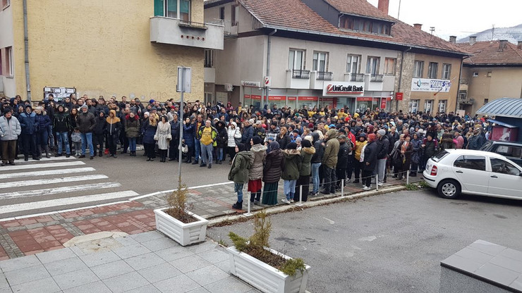 Protest u Prijepolju