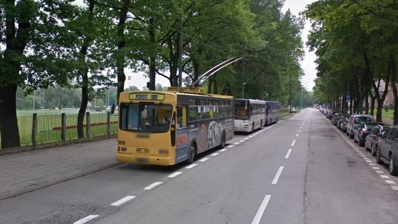Policja zatrzymała podejrzanego o ostrzelanie trolejbusu
