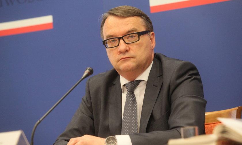 Marek Biernacki ( 55 l.), minister sprawiedliwości