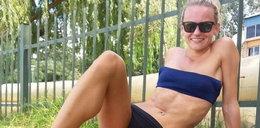 Słońce i bikini. Tak trenują polskie biegaczki