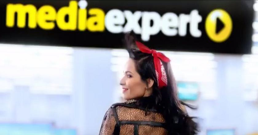 Sieć Media Expert reklamowała się w ostatnich latach spotem z udziałem Eweliny Lisowskiej