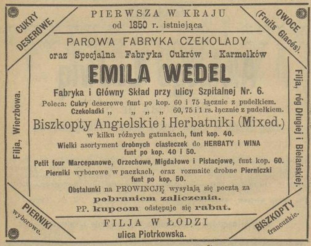 Kalendarz Warszawski, 1893 r.