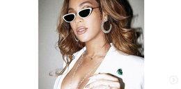 Beyonce na walentynki w seksownej kreacji. Tym razem przesadziła?