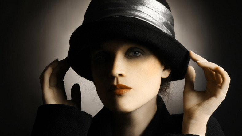 Kobieta retro