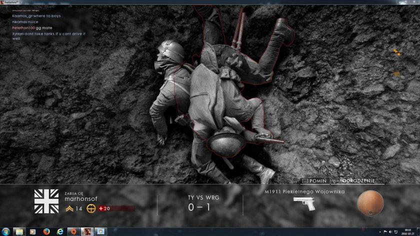 Recenzja Battlefield1