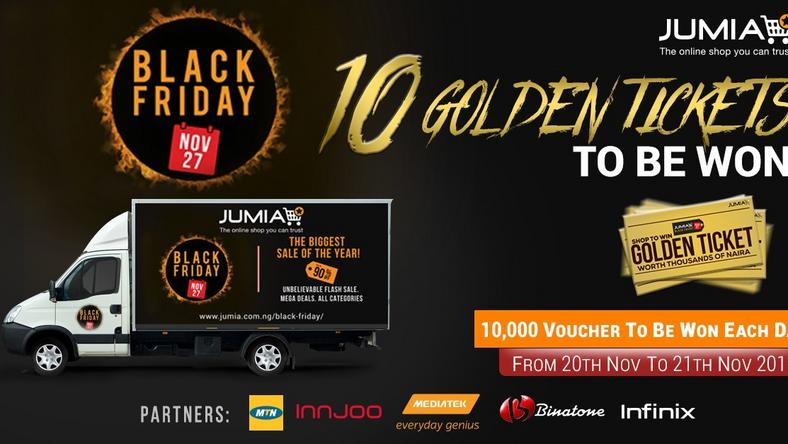 Golden tickets, 20,000 voucher up for grabs