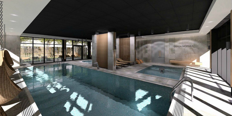 Saltic Resort & SPA - obszerna strefa Wellness & SPA
