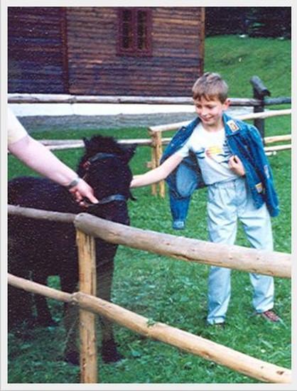 Władysław Kosiniak-Kamysz w dzieciństwie