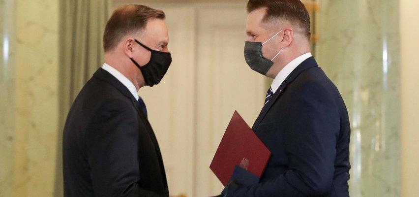 """Minister Czarnek będzie """"stawiać tamę ideologii"""""""
