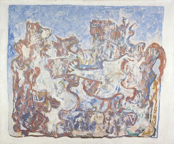 Petar Lubarda, Fantastični predeo, 1951. godina, iz kolekcije MSUB