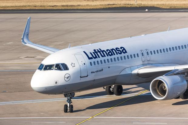 Samolot lini Lufthansa