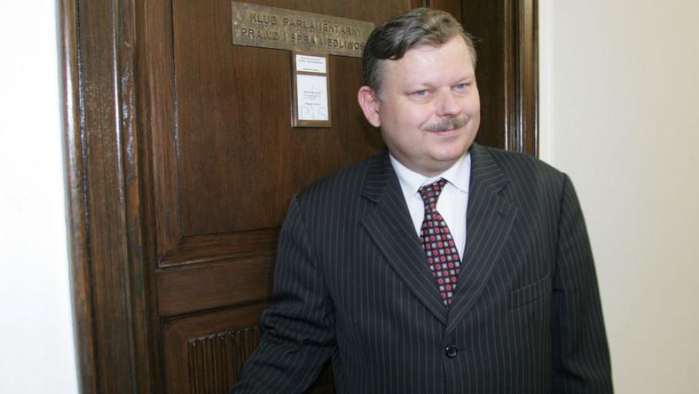 Marek Suski zrezygnował z funkcji rzecznika dyscypliny PiS