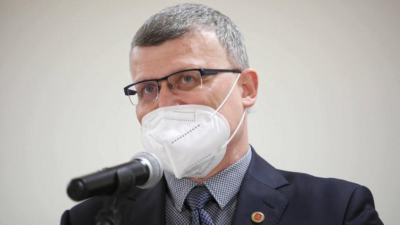 Dr Paweł Grzesiowski PAP/Leszek Szymański