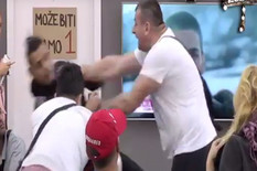 Miljan Vračević sa Borom Santanom