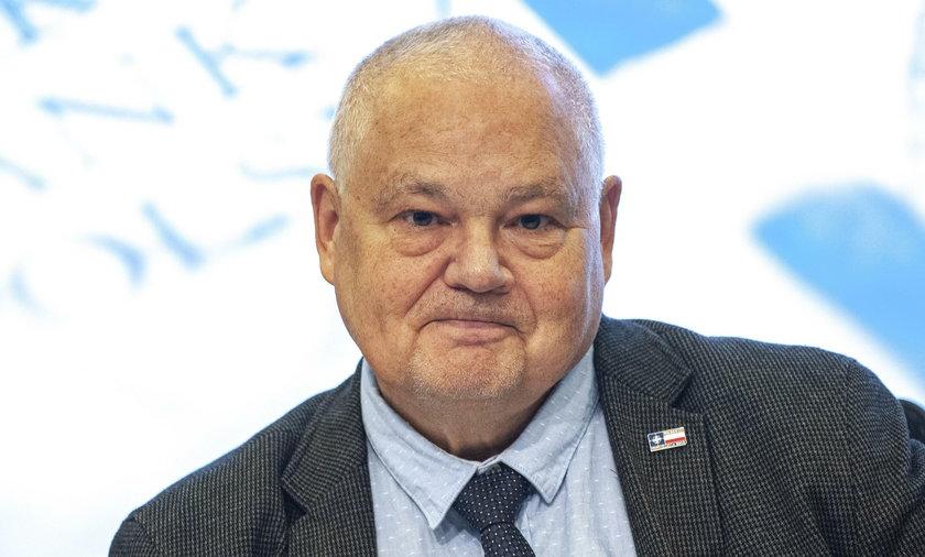 Prezes Narodowego Banku Polskiego Adam Glapiński (70 l.)
