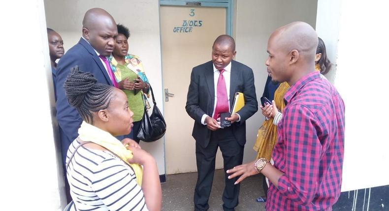 Sophia Njeri at the DPP's office