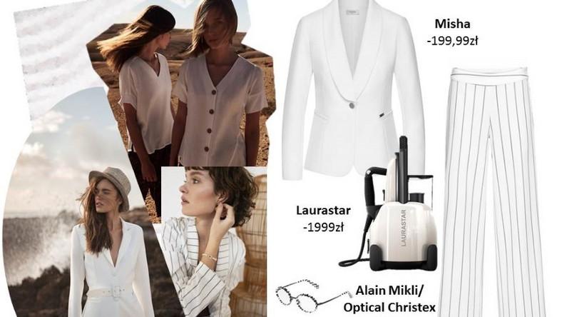Koszulowa sukienka z dobrego jakościowo materiału śmiało może zastąpić obcisłe kreacje. Zapewni tym samym nie tylko komfort, ale także spektakularny wygląd. Dobrze będzie wyglądała połączona z dodatkami w kolorze złota lub elementami drewna. Do tego pojemny koszyk z rafii i stylizacja na upalny dzień gotowa!
