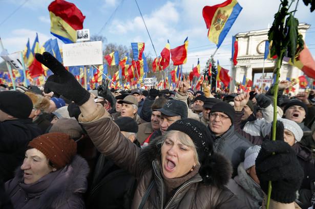 Mołdawia: Protesty w Kiszyniowie