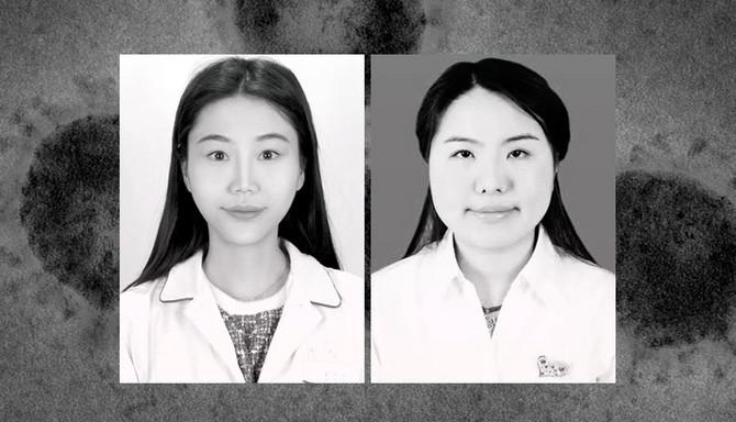 Medicinska sestra i doktorka Vuhana