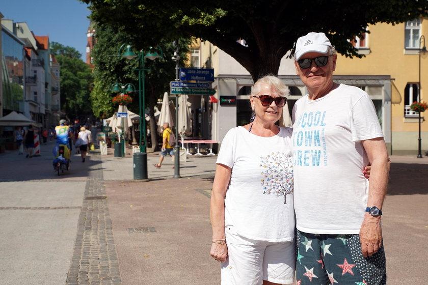 Turyści z Warszawy