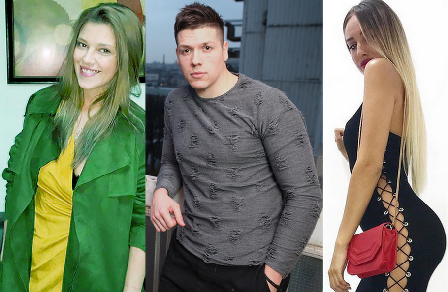 Kija Kockar, Sloba Radanović i Luna Đogani