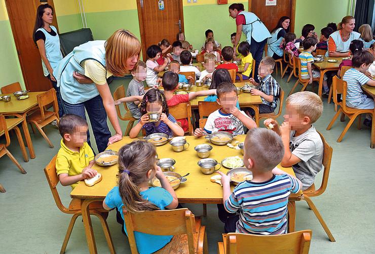 Oko 150 mališana u vrtićima ima režim ishrane u skladu sa svojom verom