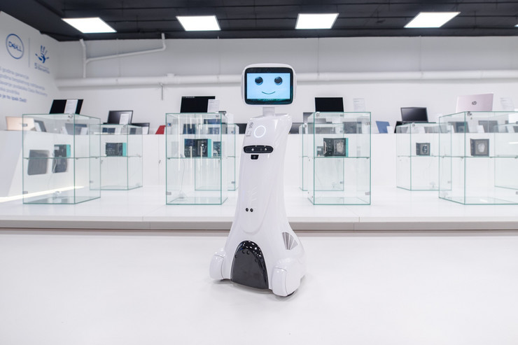 robot prodavac