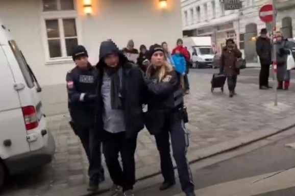 Hapšenje na ulicama Beča
