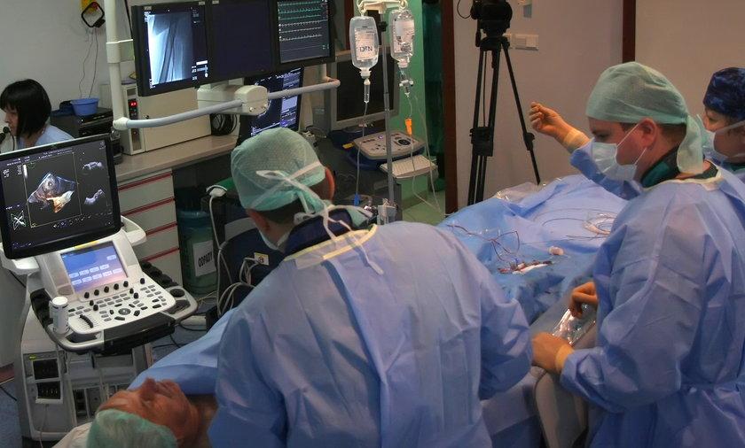 Operacja serca w 3D