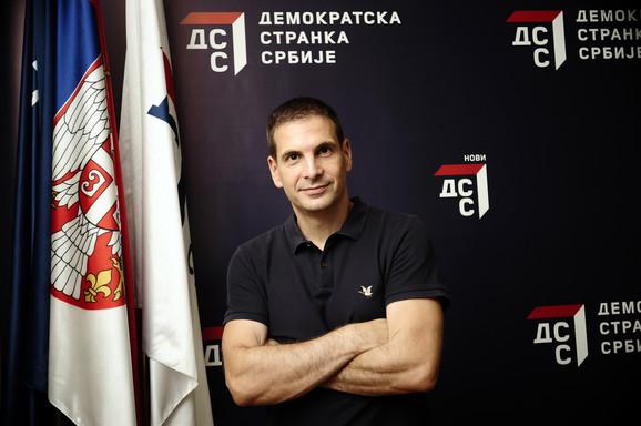 Prvi čovek Demokratske stranke Srbije