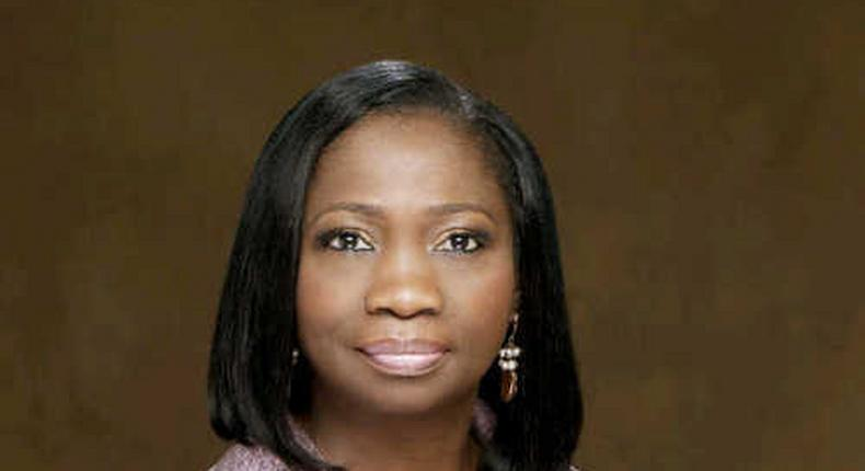 The Senior Special Assistant to the President on Foreign Affairs and Diaspora, Mrs Abike Dabiri-Erewa.