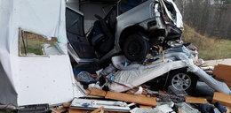 Koszmar na S1 w Mierzęcicach. Zginęło niemowlę i matka, wiele osób rannych