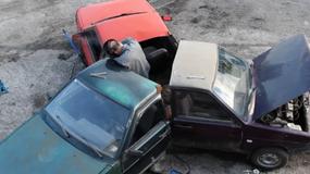 Samochodowy fidget spinner. Czego to Rosjanie nie wymyślą?
