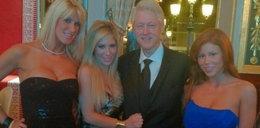 Clinton zabalował z gwiazdami porno