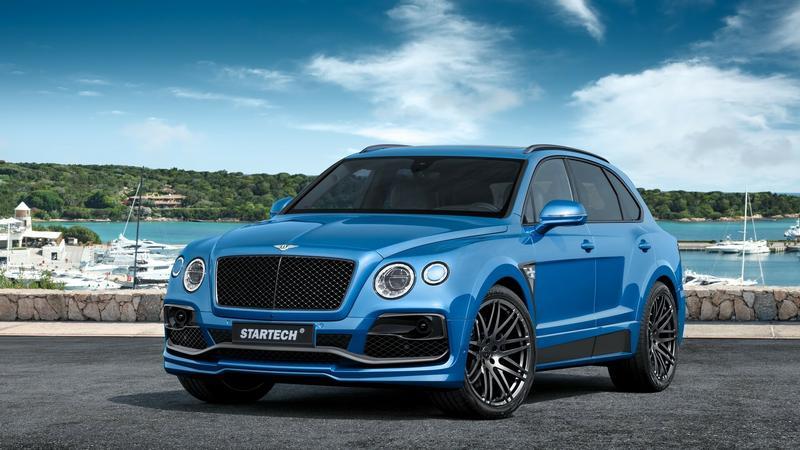 Bentley Bentayga od Startech