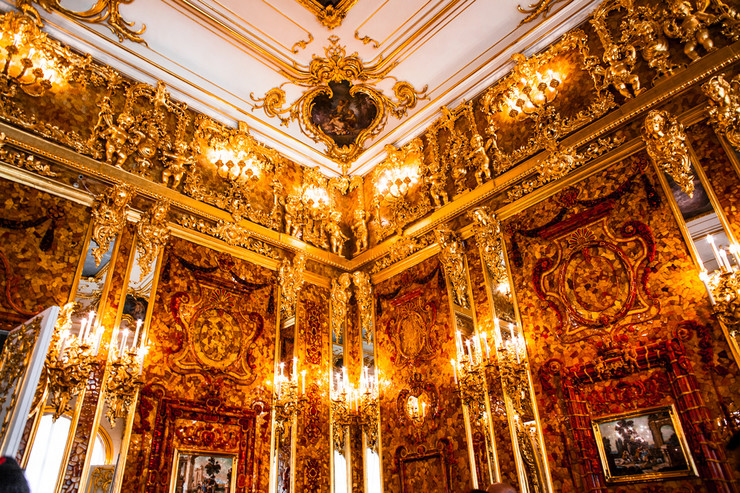 rusija ćilibarska soba